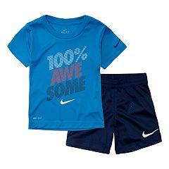 278e725f6 Toddler Boy Nike 2 Piece Tee & Shorts Set
