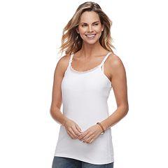 Maternity a:glow Lace Trim Nursing Cami Tank