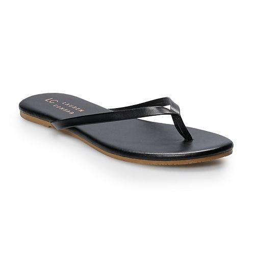 6eadce452379 LC Lauren Conrad Women s Thong Flip Flops