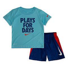 Toddler Boy Nike 'Plays For Days' Top & Shorts Set