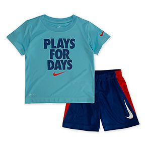 "Toddler Boy Nike ""Plays For Days"" Top & Shorts Set"