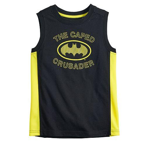 Boys 4-12 Jumping Beans® DC Comics Batman Active Muscle Tee