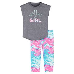 14079af0b37b Baby Girl Under Armour Win Like a Girl Tee & Leggings Set