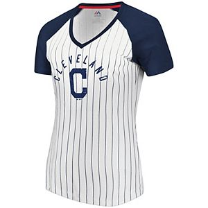293c8e6f Women's Cleveland Indians Perfect Score Tee
