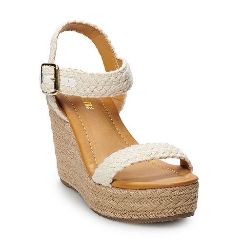 madden NYC Vanity Women's Wedge Sandals