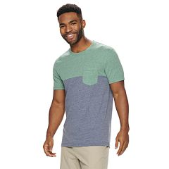 Men's SONOMA Goods for Life™ Supersoft Fashion Colorblock Pocket Tee