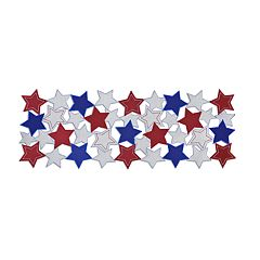 Celebrate Americana Together Cut-Out Stars Table Runner - 36'