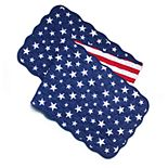 Celebrate Americana Together Quilted Flag Table Runner - 54""