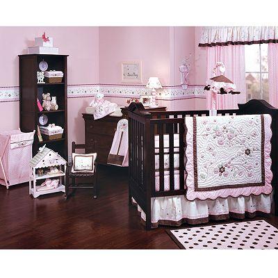 Kids Line Carter S Wildlife Four Piece Crib Bedding Set