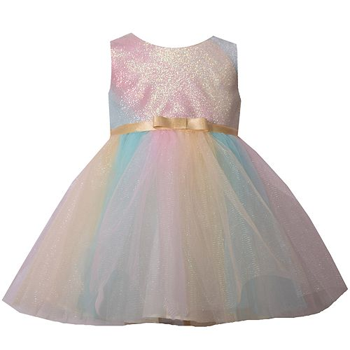 7df85a837 Baby Girl Bonnie Jean Metallic Ombre Tulle Dress
