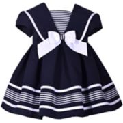 Baby Girl Bonnie Jean Nautical Dress