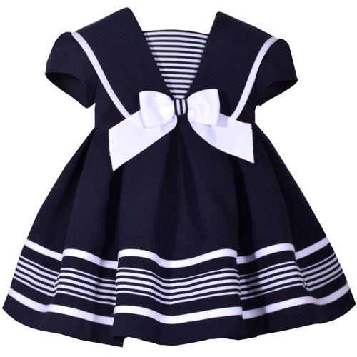 Baby Girl Bonnie Jean Nautical Dress