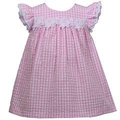 Baby Girl Bonnie Jean Seersucker Babydoll Dress