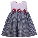 Baby Girl Bonnie Jean Eyelet Seersucker Dress