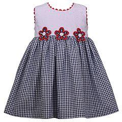 Baby Girl Bonnie Jean Eyelet Seersucker Dress