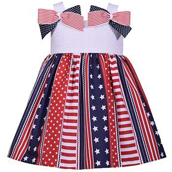 6955a07fdfa Baby Girl Bonnie Jean Seersucker Bow Dress