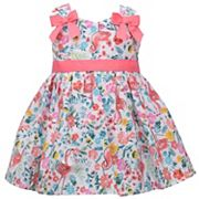Baby Girl Bonnie Jean Flamingo Dress
