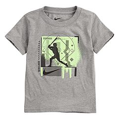 Toddler Boy Nike Textured Baseball Graphic Tee