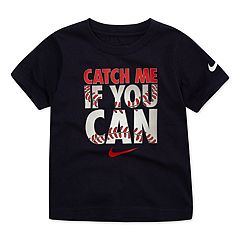 Toddler Boy Nike 'Catch Me If You Can' Baseball Graphic Tee
