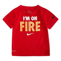 Toddler Boy Nike 'I'm On Fire' Graphic Tee