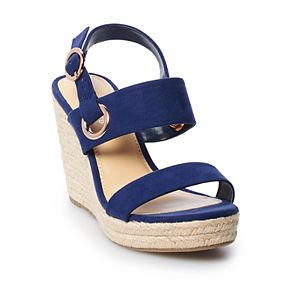 LC Lauren Conrad Sherbet Women's Wedges