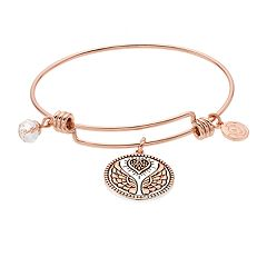 love this life Angel Wings Bangle Bracelet