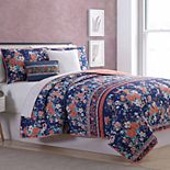 Pacific Coast 5-piece Portland Reversible Quilt Set