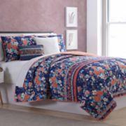 Pacific Coast 5-piece Portland Reversible Quilt Set