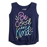Toddler Girl Jumping Beans® Knot-Front Tank Top