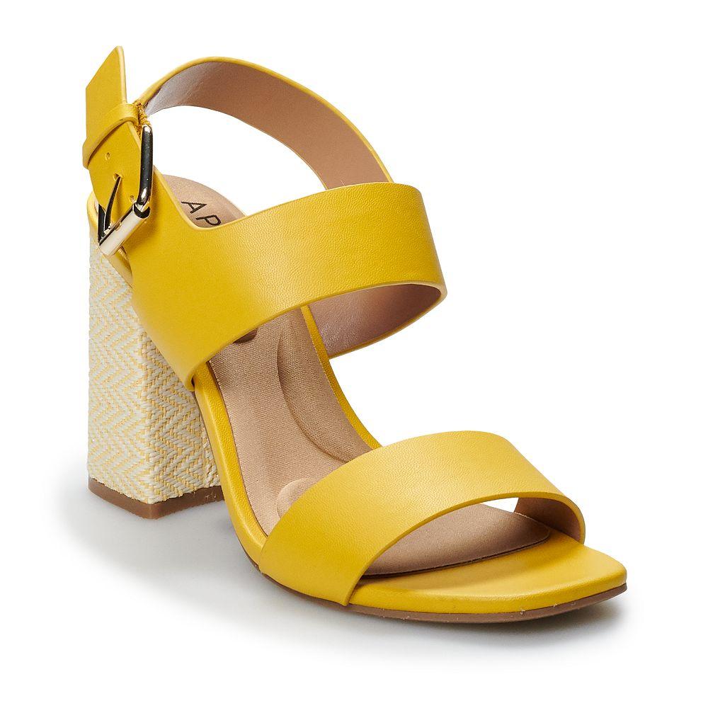 Apt. 9® Kiwi Women's Block Heel Sandals