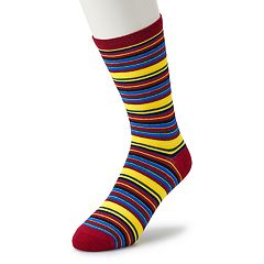 Men's Wear Your Life Novelty Fashion Crew Socks