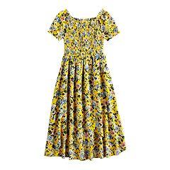 Girls 7-16 Knitworks Smocked Dress