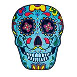 BigMouth Inc. Sugar Skull Beach Blanket