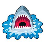 BigMouth Inc. Shark Beach Blanket