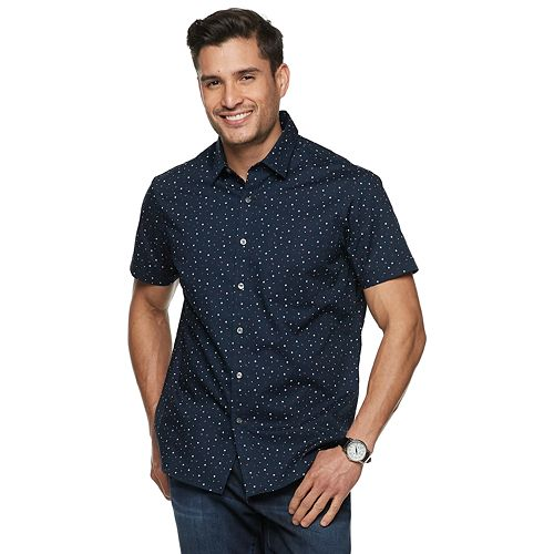 Men's Apt. 9® HEIQ Performance Button-Down Shirt