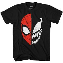 d1a335f5337 Boys 8-20 Spider-Man Venom Split Face Tee