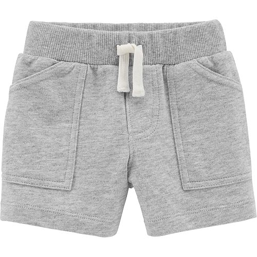 Baby Girl Carter's Solid French Terry Pants