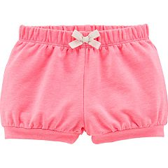 Baby Girl Carter's Solid Bubble Shorts