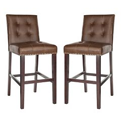 Safavieh Nikita 2-piece Bar Stool Set