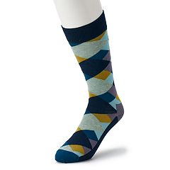 Men's HS by Happy Socks Argyle Crew Socks