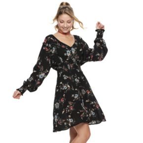 Juniors' American Rag Dolman Sleeve Skater Dress