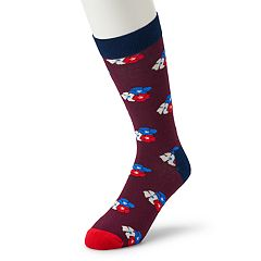 Men's HS by Happy Socks Flower Crew Socks