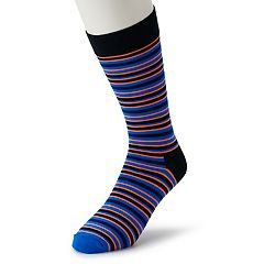 Men's HS by Happy Socks Striped Crew Socks