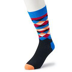 Men's HS by Happy Socks Triangle Crew Socks