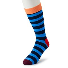 Men's HS by Happy Socks Patterned Crew Socks