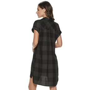 Women's Rock & Republic® Roll-Sleeve Dress