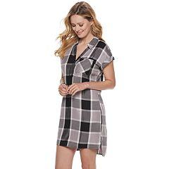 Women's Rock & Republic® Roll-Sleeve Dress