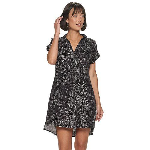 Women's Rock & Republic™ Roll-Sleeve Dress