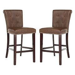 Safavieh Taylor 2-piece Bar Stool Set