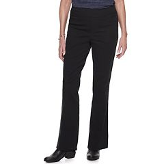 Women's Croft & Barrow® Comfort Waist Pull-On Bootcut Jeans
